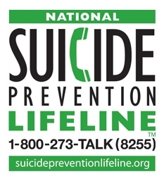 National Suicide Hotline 1-800-273-8255