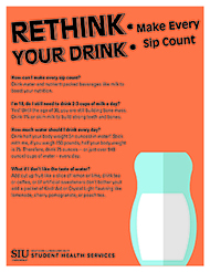 Saluki Choices Rethink Your Drink Page 1