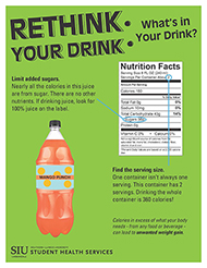Saluki Choices Rethink Your Drink Page 2